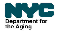 NYC Department for the Aging Logo